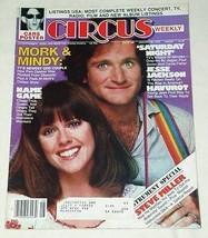 MORK & MINDY CIRCUS WEEKLY MAGAZINE VINTAGE 1979 - $29.99