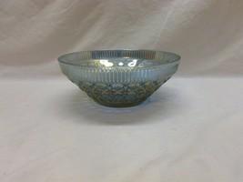 Vtg Indiana Carnival Glass Windsor Blue Purple Iridescent Salad Serving ... - $44.99
