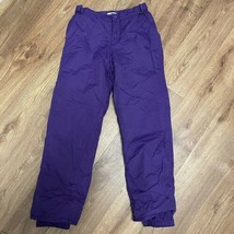 Children's Place Girls Purple Lined Adjustable Ski Snow Pants Size 10 - $21.78
