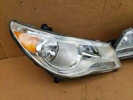 09-12 Volkswagen VW Routan Halogen Headlight Head Light Lamp Set LH & RH image 3