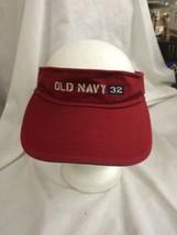 trucker hat baseball cap old navy 32 visor viser retro vintage - $39.99