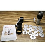 KitchenAid Stainless Steel 681041 Cookie Press With 13 Discs/VERY LIGHT USE - $17.99