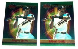 2 1994 Topps Finest Albert Belle Cleveland Indians Baseball Card NRMT - $11.93