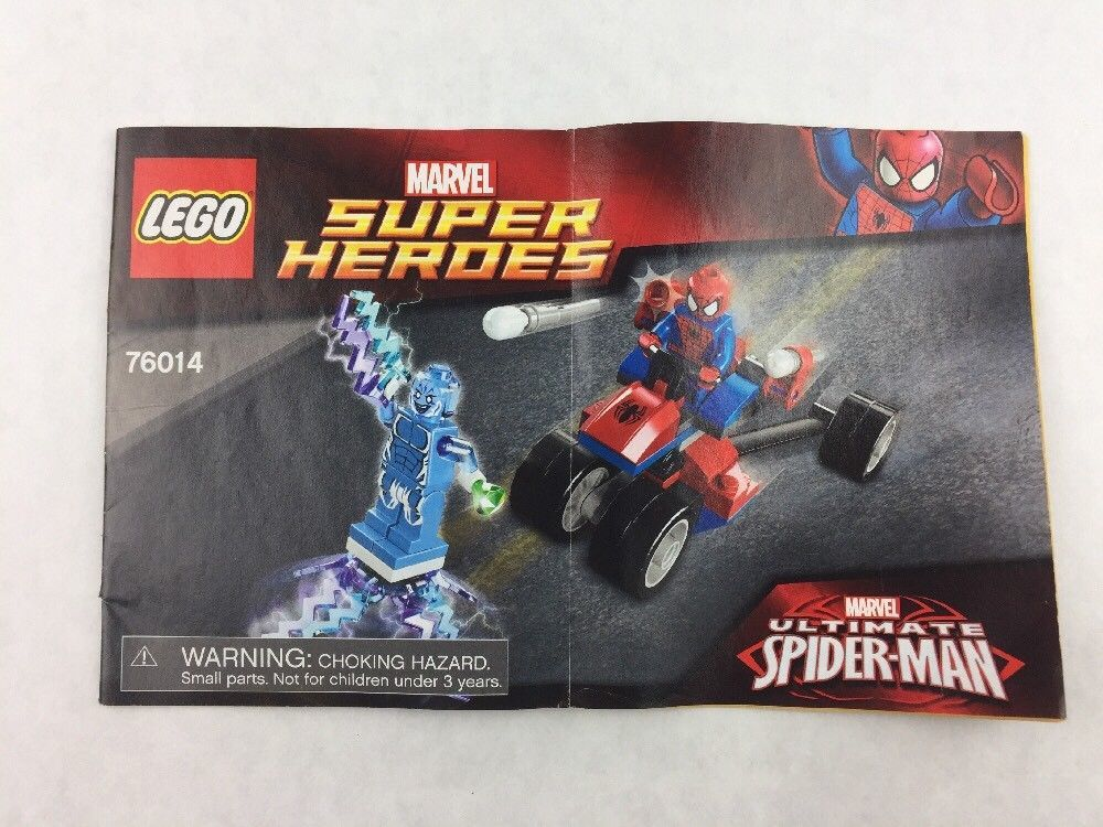 Lego Marvel Super Heroes 76014 Instructions and 50 similar items