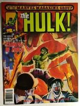 HULK #25 (1981) Marvel Comics color magazine FINE+ - $14.84