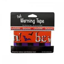 Foil Halloween Warning Tape PA925 SSW-KL12918 - ₨2,391.86 INR