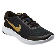 Nike Flex Experience RN 7 Womens Running Athletic Shoes Black Gold 90899... - $35.00