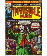 Supernatural Thrillers No. 2 Featuring the Invisible Man [Comic] [Jan 01... - $7.63