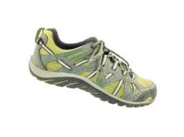 Merrell Waterproof Manistee Womens Dusty Olive/green Oasis Water Sneakers Sz 9  - $29.46