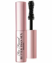 Too Faced Better Than Sex Mascara Black 0.13 OZ / 3.9 G Mini Travel Size... - $9.27