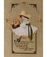 """Todd in a Garden """"A GATHERING OF ROSE"""" Complete Materials with Linen - $44.54"""