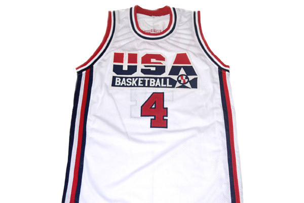 Christian Laettner #4 Team USA Basketball Jersey White Any Size