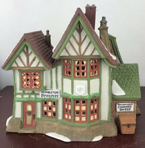 Dept 56 Heritage Dickens Village Hembleton Pewterer Mint 58009 Christmas... - $18.70