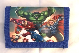 Marvel Avengers Children's Wallet— Boy's Gift  More Characters Available... - $7.00