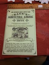Vintage for Year 1974 - 149th Year Baer's Agricultural Almanac  image 3