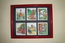 ALICE IN WONDERLAND - 6 pictures in mat (Buy UNFRAMED $27.00 or  FRAMED ... - $26.73