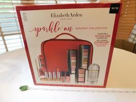 ELIZABETH ARDEN 12-Pc Sparkle Collection Value makeup set full size lips - $74.83