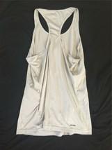 Adidas USA Women Ladies Tennis Tank Top Gray Climalite Small Running Yoga B image 2