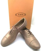 """TOD'S 100% Italian Leather Oxford """"Dance"""" Shoes in Bronze Size US 7 - NEW! - $150.00"""