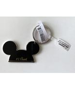 Walt Disney World Mickey Mouse Ears #1 Aunt Metal Keychain NEW - $17.90