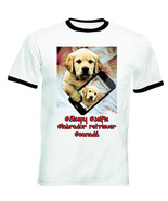 LABRADOR RETRIEVER SELFIE - NEW BLACK RINGER COTTON TSHIRT - $19.53