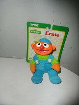 Tyco JIM HENSON Sesame Street  Ernie Plush Doll hard face Plush - $12.82