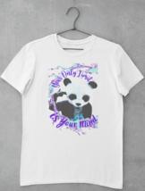 Panda Your Only Limit T-Shirt | Panda Bear Graphic Design Tee | Ships Free! image 1