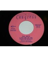 Phil Brito Come Back To Sorrento O Sole Mio Cha Cha 45 Rpm Record Congre... - $64.99