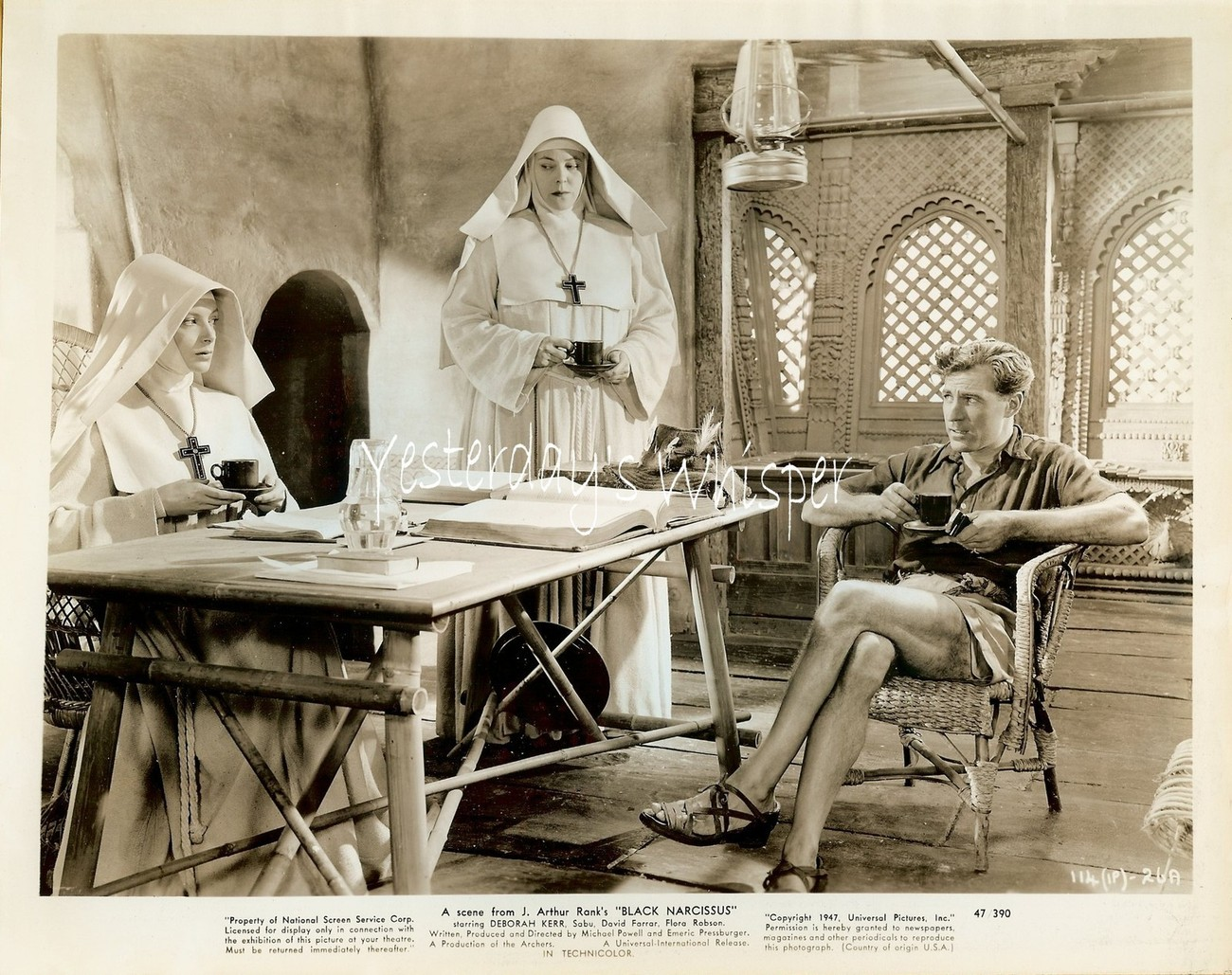 Kathleen BYRON David FARRAR Powell-Pressburger BLACK NARCISSUS Org 1947 Photo