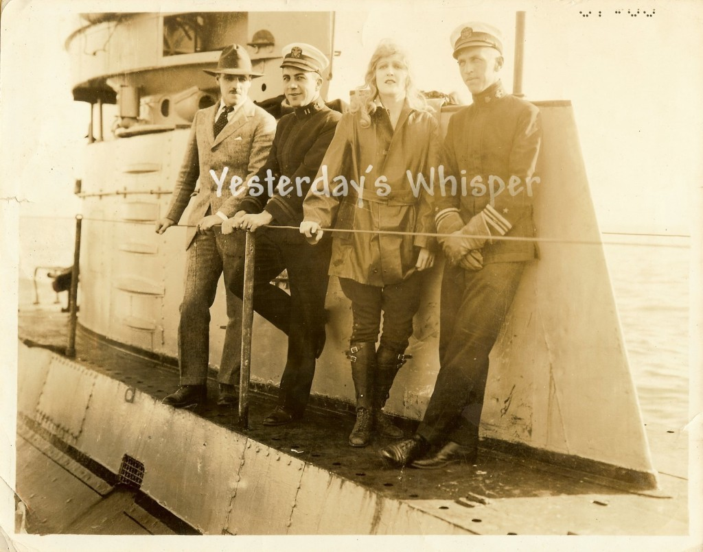 Kathryn Adams Jack Holt U.S. SUBMARINE H-5 Metro c.1920 Original Movie Photo
