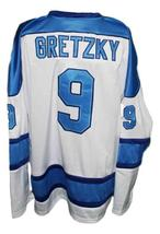 Custom Name # Ross Sheppard High School Hockey Jersey Wayne Gretzky Any Size image 2