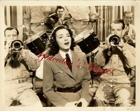 Kathryn Grayson Band Thousands Cheer Original B/W Photo