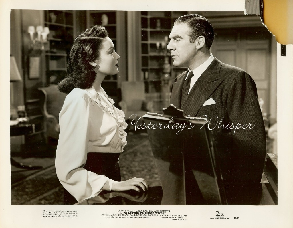 Linda DARNELL A Letter to Three Wives ORIGINAL 1949 Movie Photo