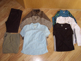 Mixed lot of women's sportswear, North Face, Exofficio, Mountain Hardware, - $45.06