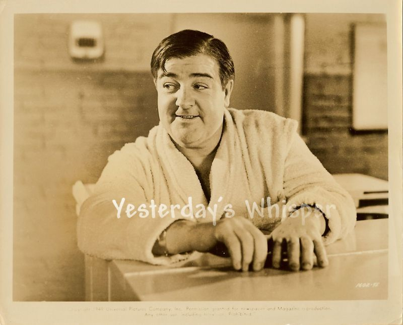 Lou Costello Original c.1949 Universal Movie Photo