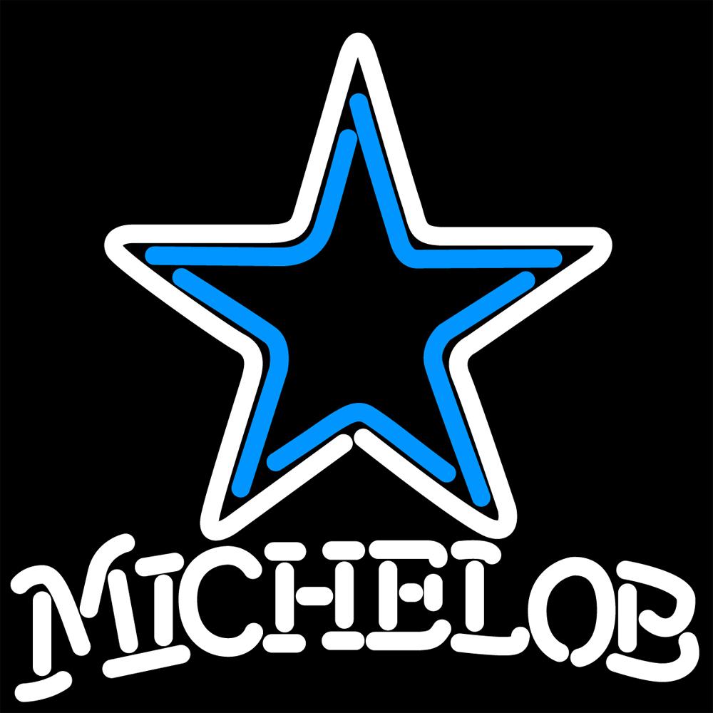 NFL Michelob Dallas Cowboys Neon Sign - Neon