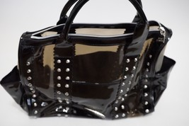 BETSEY JOHNSON - HANDBAG in BLACK shoulder bag women's -strap issue / wear - $1.400,70 MXN
