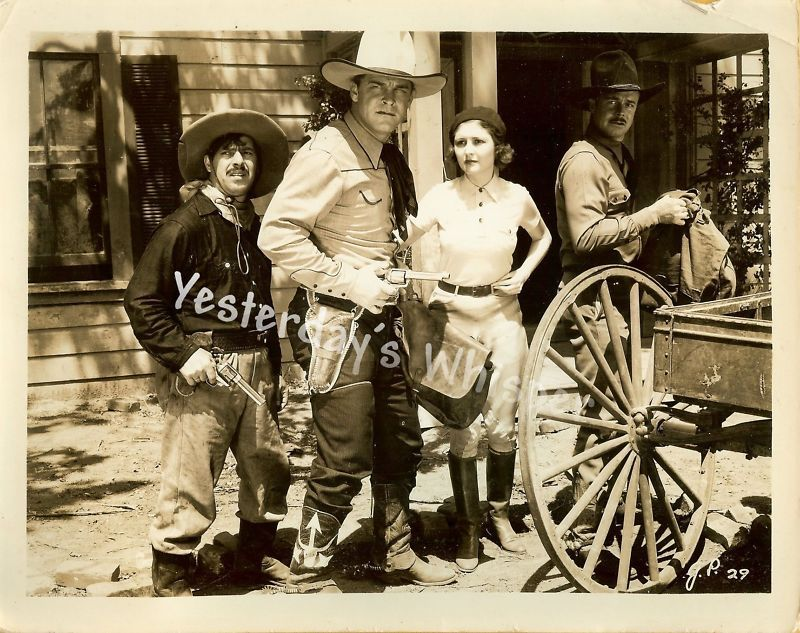 Marion Shilling Guinn Williams GUN PLAY Original Photo