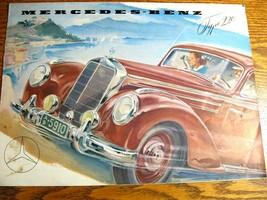 1953 1954 Mercedes-Benz Type 220 Color Brochure, Original - $85.56