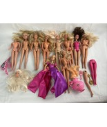 Barbie Doll Parts lot Random Mixed Doll Pieces - $14.84
