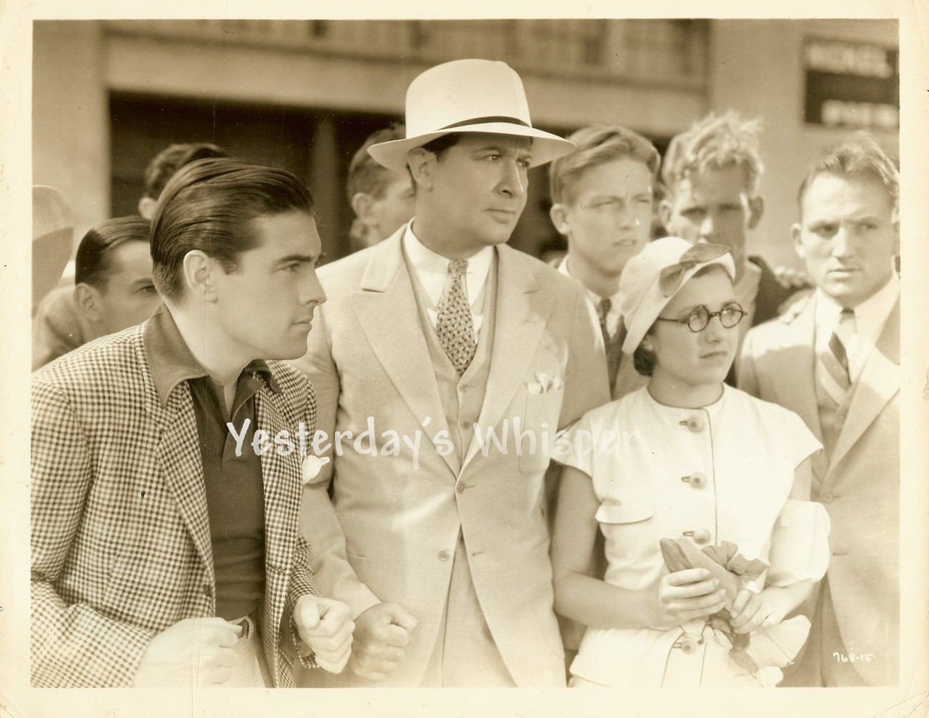 Maxine Doyle PHIL REGAN Student Tour c.1934 Original Movie Photo