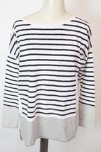 VINCE | Tricolor Stripe Boatneck Sweater $155 women's sz M -V272576099 ... - $1.333,67 MXN