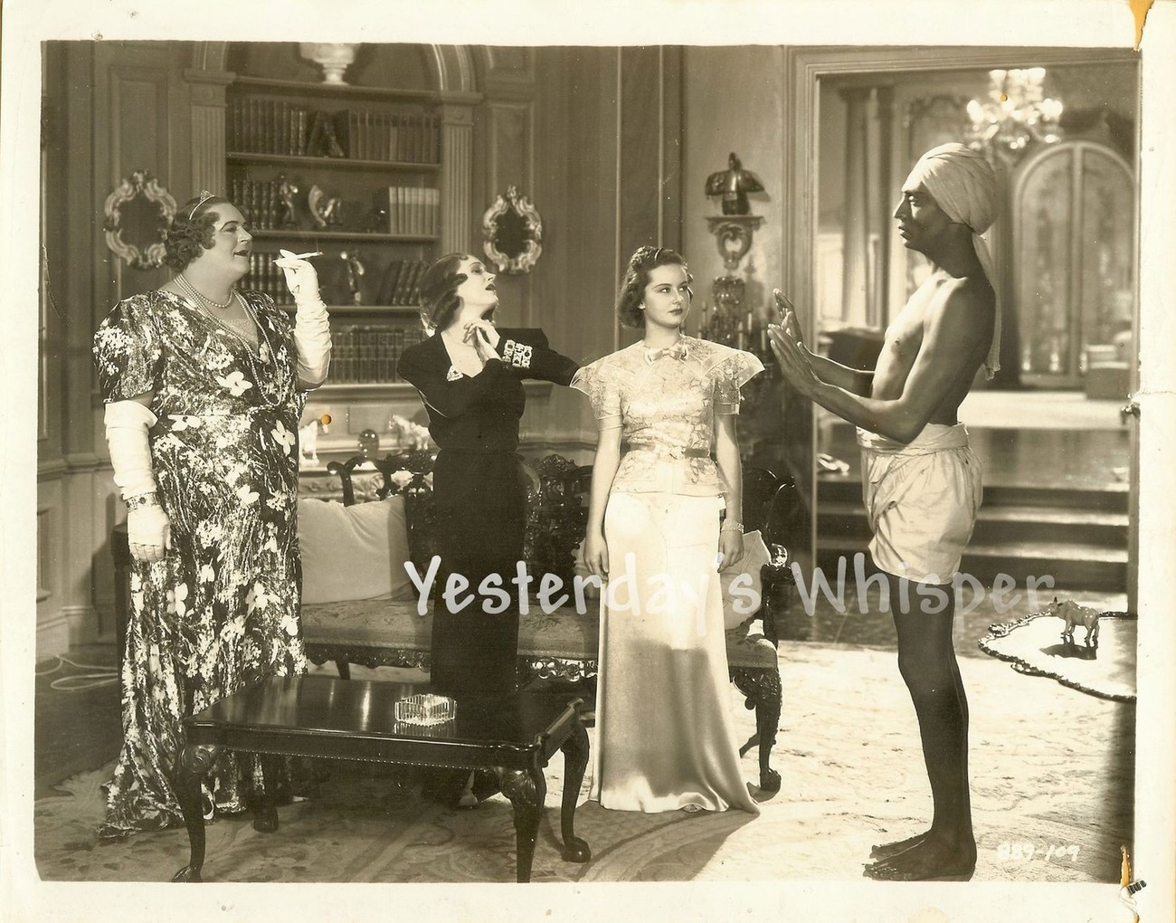 Original Photo 1930's HORSE FEATHERS Unknown Actor Drag Actresses