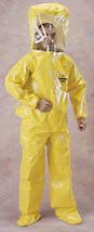 NIB LAKELAND BR400 TYCHEM CHEMICAL SUIT LEVEL B size 2XL - $123.75