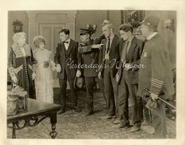Pat O'MALLEY Lillian HALL Original SILENT Era DW Photo - $9.99
