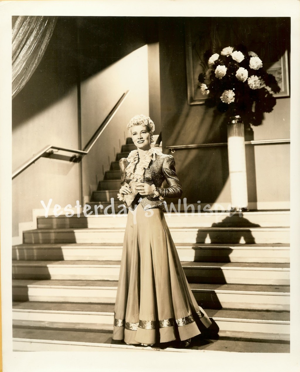 Penny Singleton BLONDIE GOES LATIN c.1941 Original Photo by M.B. Paul