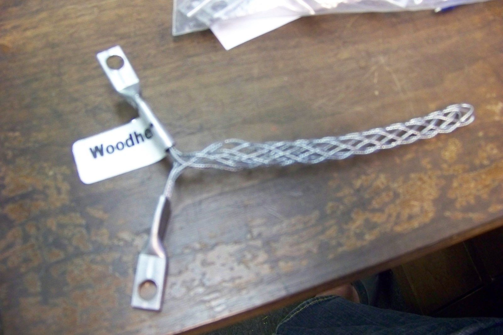 new Woodhead 36551 Steel Wire Mesh Grip, and 50 similar items