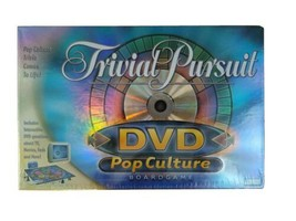 Trivial Pursuit DVD Pop Culture Board Game Trivia Movie TV Music 2003 Br... - $11.88