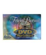 Trivial Pursuit DVD Pop Culture Board Game Trivia Movie TV Music 2003 Brand New - $11.88