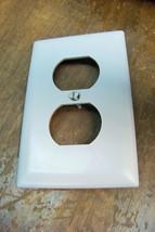 new pass & seymour gray 1 gang wall plate - $0.99